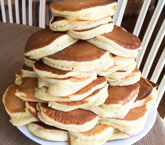 Lemon Ricotta Pancakes to Feed the Entire First Order