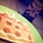 Lemon Coconut Waffles: The Dinner Edition